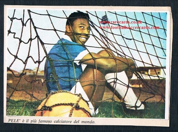 1966 Epoca Pele on album page